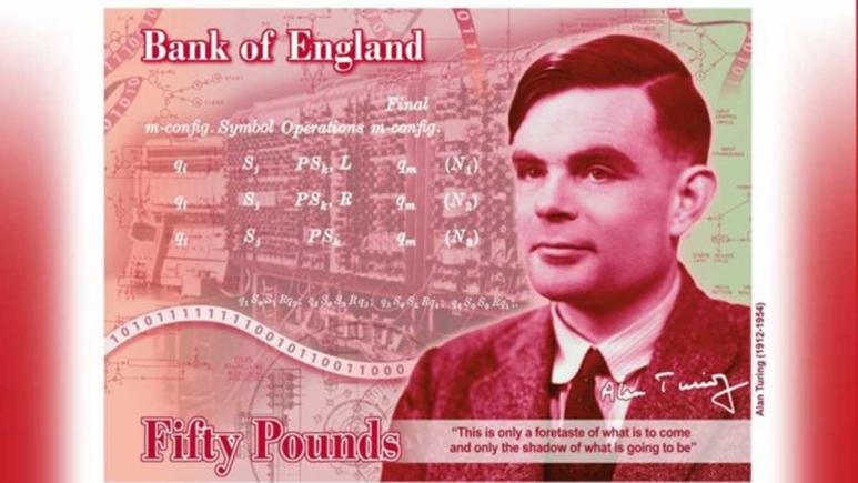 Alan Turing, World War Two codebreaker and mathematician, will be the face of new Bank of England £50 note