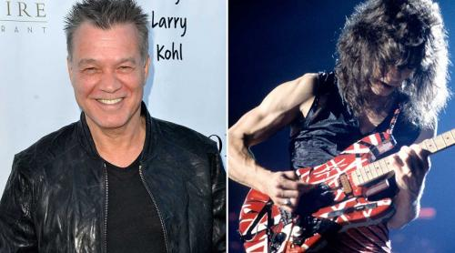 Eddie Van Halen suffering from throat cancer contracted after years of sucking on his metal guitar